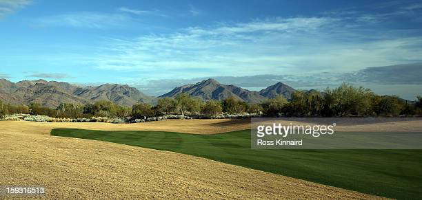 The first fairway on The Tallon Course at the Gray Hawk Golf Club Scottsdale on December 26 2012 in Scottsdale Arizona