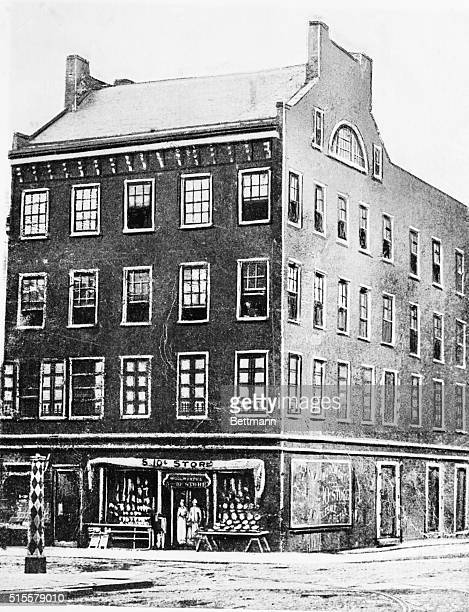 The first fiveanddime store in the United States opened by FW Woolworth in Lancaster PA June 21 1879 Brown Brothers photo