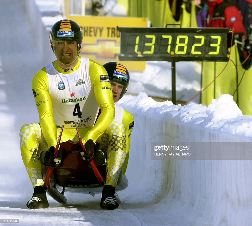 The first gold medal of the 2000 Winter Goodwill G : News Photo