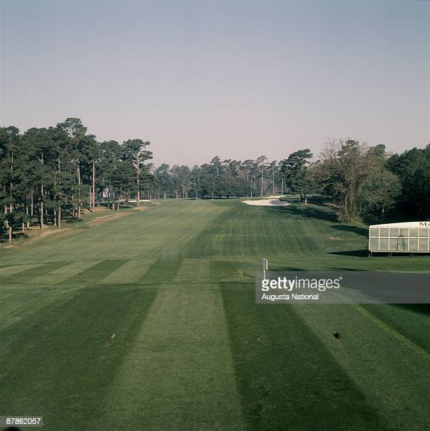 The first hole during the 1978 Masters Tournament at Augusta National Golf Club on April 1978 in Augusta Georgia