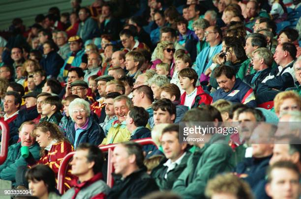 The first Huddersfield Giants home game at McAlpine stadium Long before the finish the emphatic Fartown win had put smiles on faces in the crowd 28th...