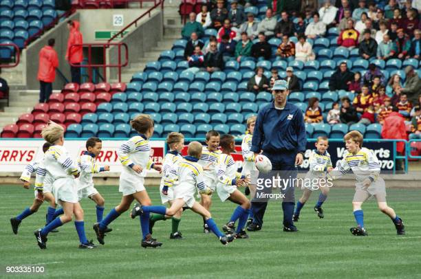 The first Huddersfield Giants home game at McAlpine stadium Moldgreen Juniors 28th August 1994