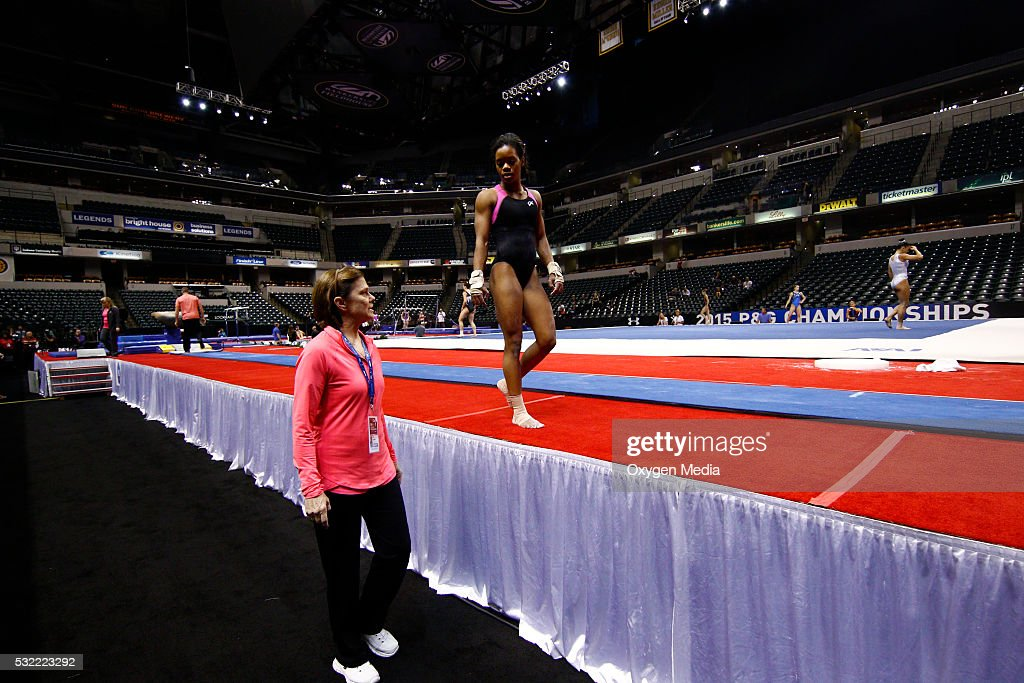 GOLD -- 'The First Hurdle' -- Pictured: Gabrielle 'Gabby' Douglas --