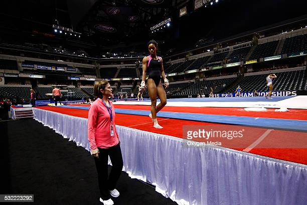 GOLD The First Hurdle Pictured Gabrielle Gabby Douglas