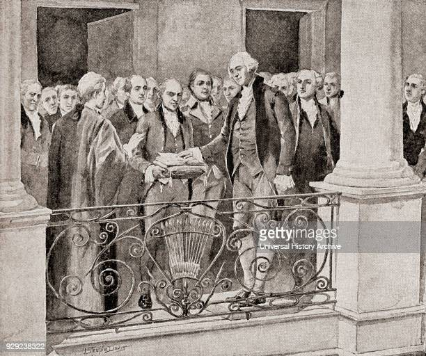 The first inauguration of George Washington April 30 1789 George Washington 1732 1799 First President of the United States CommanderinChief of the...