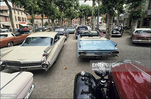 The first international meeting of Cadillac enthusiasts in Castel Sarrasin France on July 25 1991