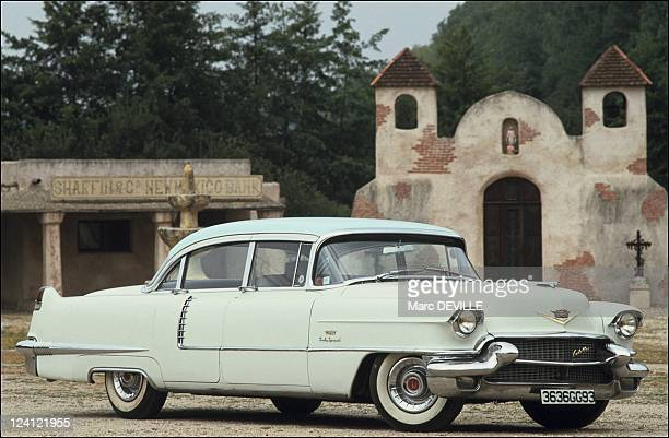The first international meeting of Cadillac enthusiasts in Castel Sarrasin France on July 25 1991 1956 Cadillac special sixties