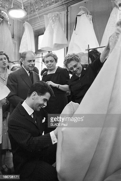 The First Karl Lagerfeld Collection At Patou En Juillet 1958 le couturier Karl LAGERFELD présente sa première collection pour l'automne hiver 1959...