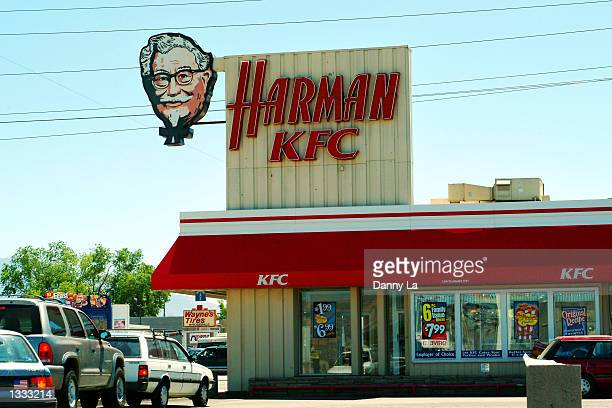 The first KFC site located at 3900 South at State Street still does business August 12 2002 in south Salt Lake City Utah KFC with 11815 locations...