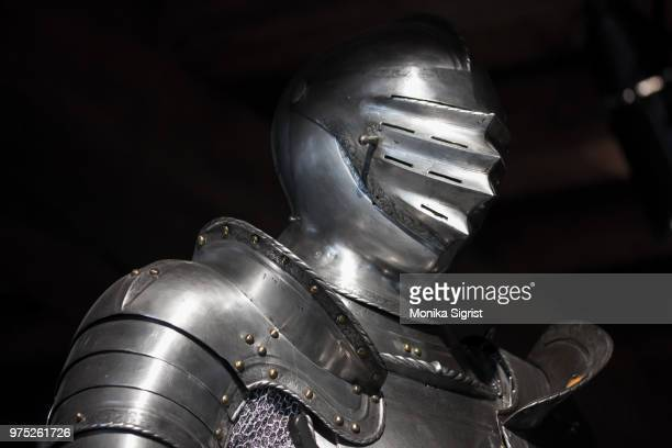 the first knight - traditional armor stock pictures, royalty-free photos & images
