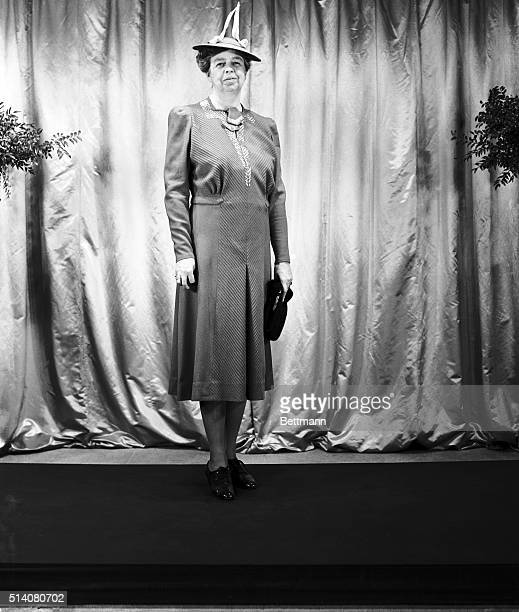 The First Lady will wear a vermilion wool dress on the morning of her husband's third inauguration on January 20, 1941. With the wool creation,...