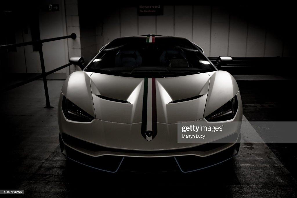 The First Lamborghini Centenario Delivered To Qatari Sheikh