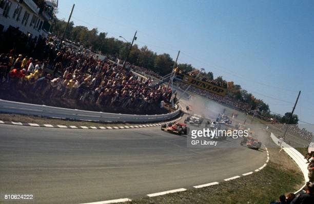 The First lap at Watkins Glen, USA.