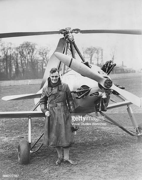 The first longdistance flight by Autogiro or as more popularly known the windmill plane will shortly commence when JN Young takes off from Hanworth...