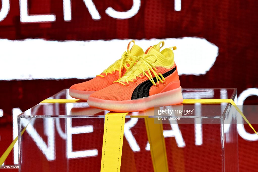 9220b912af6 The first look of PUMA basketball shoe, Clyde Court Disrupt on June ...