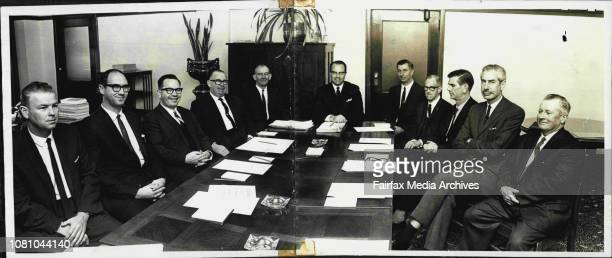 The First meeting of the Industrial Relations Advisary Council of NSW was held today at APA House Martin Place One Member Mr FW Bowen MLC and...