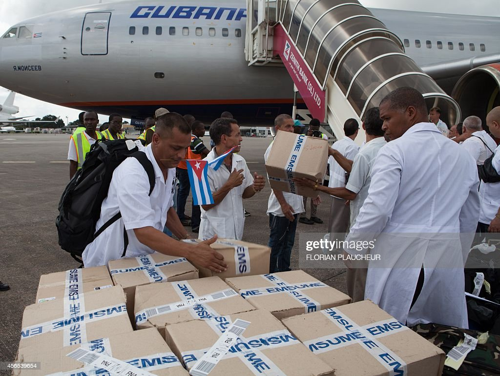 SLEONE-CUBA-HEALTH-EBOLA-WAFRICA : News Photo
