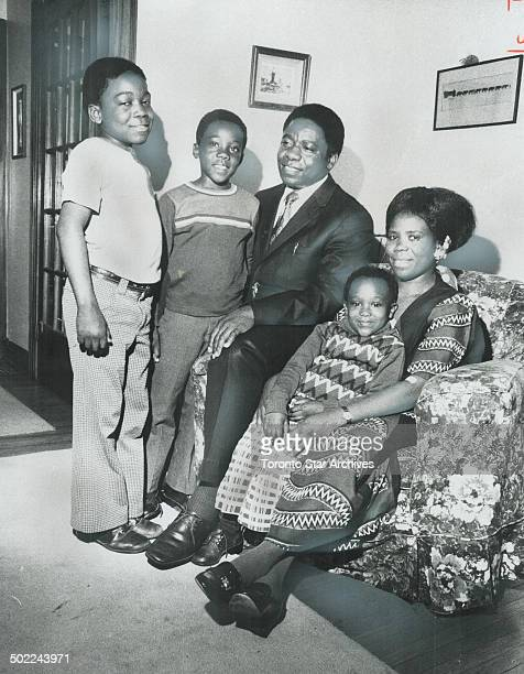 The first missionary from Africa to Canada Rev Elijah K Lumbama has brought with him his wife Elizabeth and three of their six children Harrison 10...