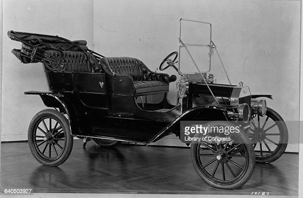 The first Model T Ford built in 1908