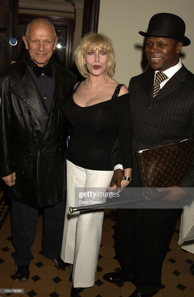 The First Night Of Cirque Du Soleil European Tour Of Their New Show Dralion At The Royal Albert Hall, London, Steven Berkoff With Chris Eubank, Faith Brown & Friend : News Photo