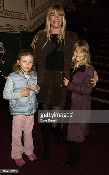 The First Night Of Cirque Du Soleil European Tour Of Their New Show Dralion At The Royal Albert Hall London Deborah Leng with daughter Tiger Lily...