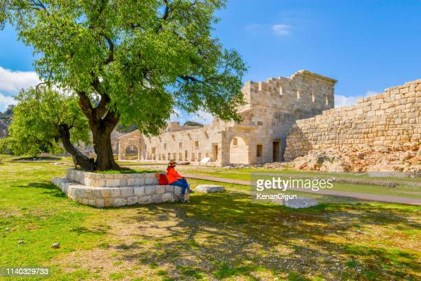 the first parliament building in the world. patara ancient city from turkey. - unesco stock pictures, royalty-free photos & images