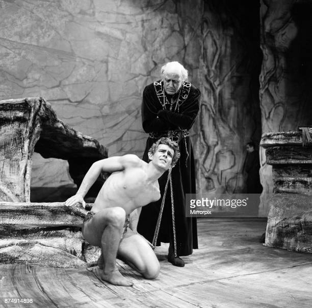 The first performance of 'The Tempest' by William Shakespeare will be on the 29th May 1962 at the Old Vic Theatre Waterloo Road London The director...