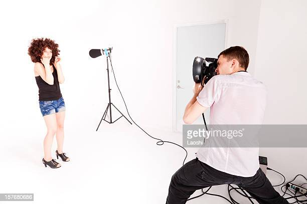 The first photoshoot