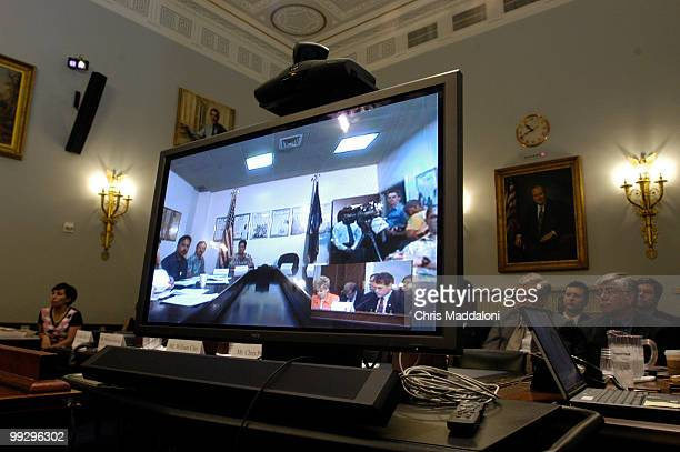 The first teleconference between Guam and Washington DC some 8000 miles apart took place today at a Congressional hearing on Congresswoman Madeleine...