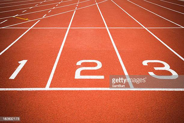 The first three startup lines for track