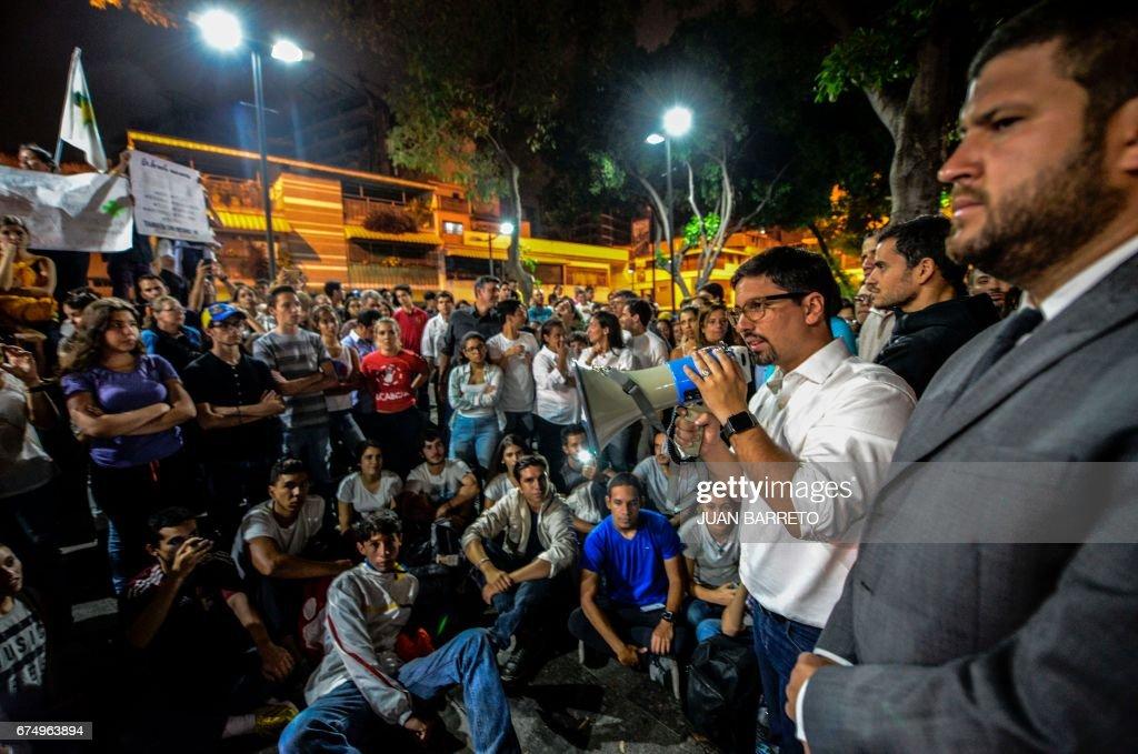 VENEZUELA-CRISIS-PROTEST-VICTIM-MARCH : News Photo