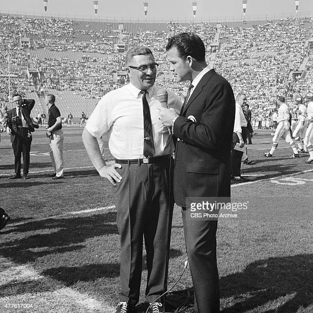 The First World Championship Game AFL vs NFL later known as Super Bowl I on January 15 1967 at the Los Angeles Memorial Coliseum in Los Angeles...