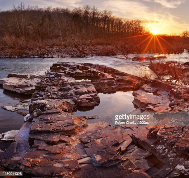 the fish trap - ozark mountains stock pictures, royalty-free photos & images