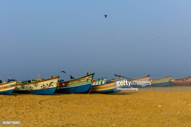 the fisher village of trivandrum' india - thiruvananthapuram stock photos and pictures