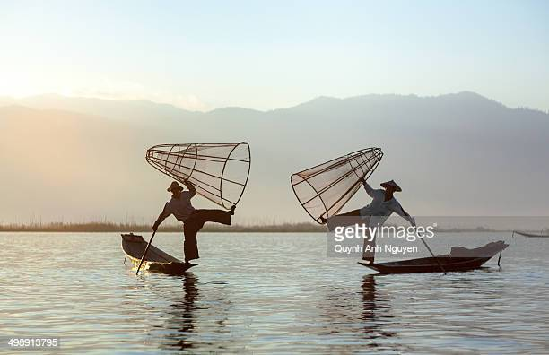 The Fishermen on Inle Lake, Myanmar