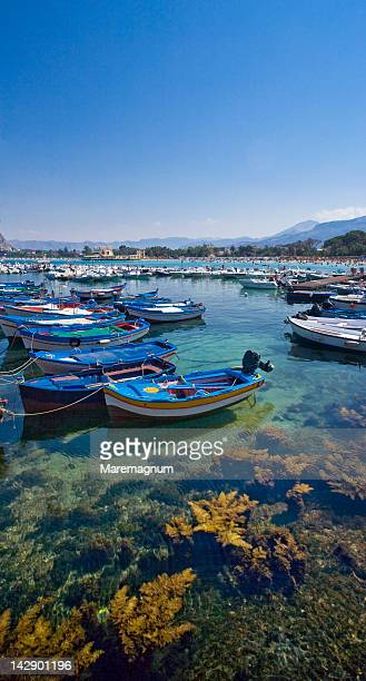 The fishing port of Mondello