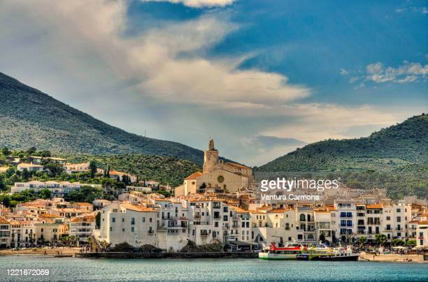 the fishing village of cadaqués - catalonia, spain - catalonia stock pictures, royalty-free photos & images