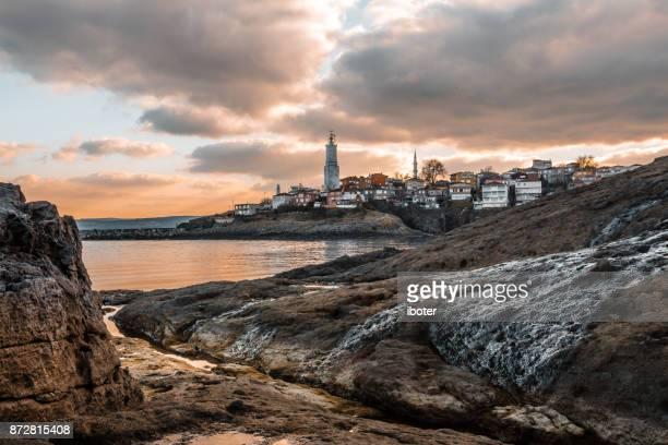 The fishing village of Rumeli Lighthouse, Istanbul