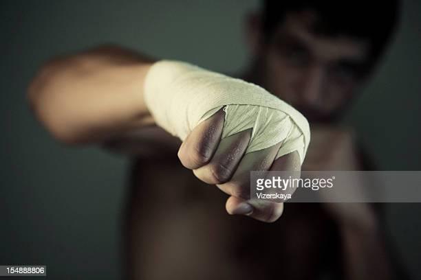 the fist of pugilist