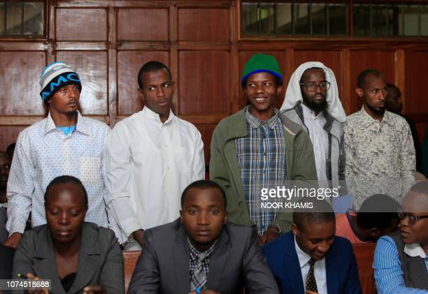 The five suspects charged for their alleged role in 2015 attack by Shabaab gunmen at Garissa University College that left 148 killed stand at the...