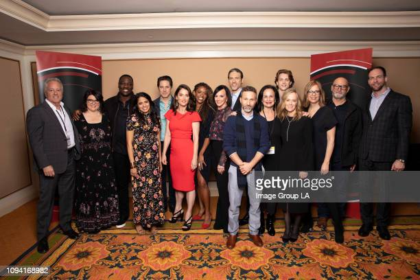 TOUR The Fix Session The cast and executive producers of Walt Disney Television via Getty Images's The Fix addressed the press at the 2019 TCA Winter...