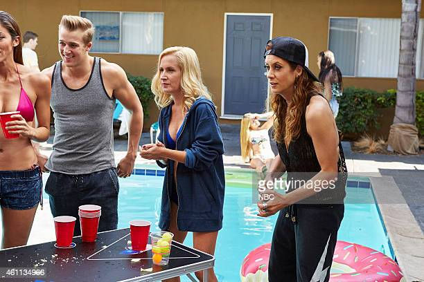 BAD JUDGE 'The Fixer' Episode 110 Pictured Angela Kinsey as Michelle Kate Walsh as Rebecca Wright