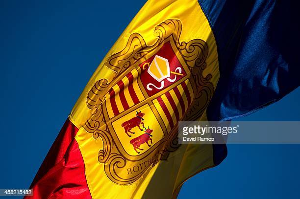 The flag of Andorra waves on October 31 2014 in Andorra la Vella Andorra Andorra is a tax haven status although it is in the process of reforming its...