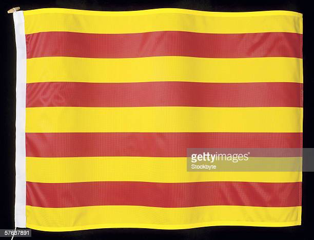 The flag of Catalane