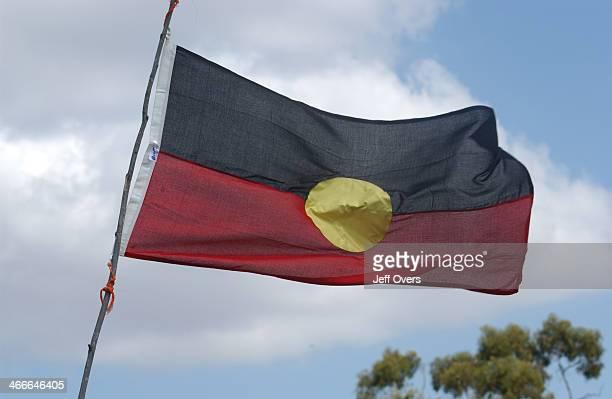 The flag of the Aborigines