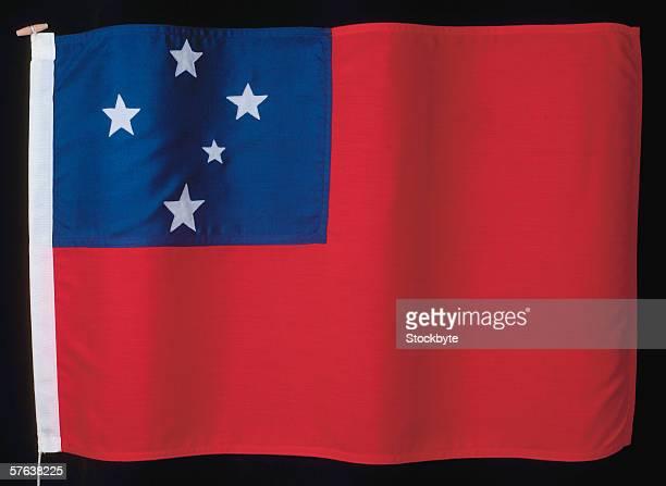 the flag of western Samoa