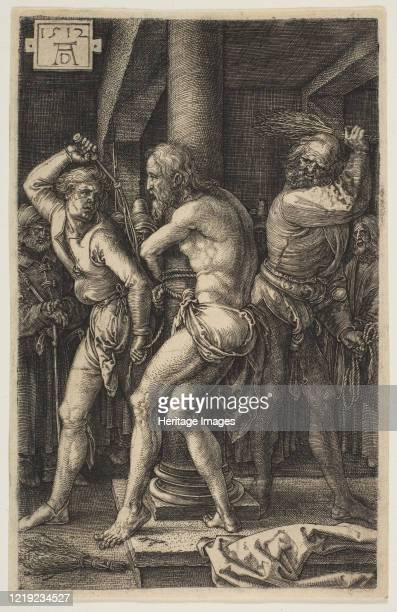 The Flagellation from The Passion 1512 Artist Albrecht Durer