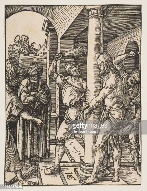 The Flagellation from The Small Passion circa 1509 Artist Albrecht Durer
