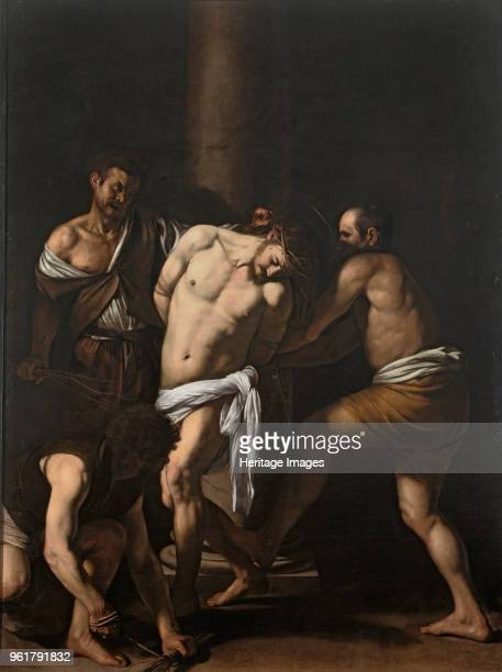 The Flagellation of Christ 1607 Found in the Collection of Museo di Capodimonte Naples