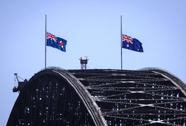AUS: Australia Reacts To The Death Of Prince Philip Duke Of Edinburgh